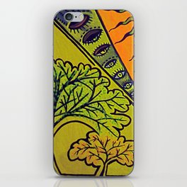 Sleepy Trees iPhone Skin