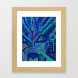 Me Minus You Framed Art Print
