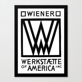 Wiener Werkstaette of America Canvas Print