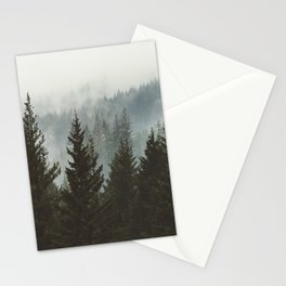 Forest Fog Mountain IV - Wanderlust Nature Photography Stationery Cards