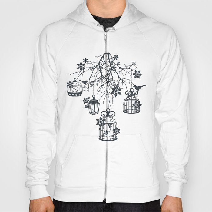 Bird Cage Chandelier Hoody