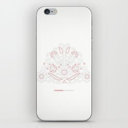 Hungarian Embroidery no.14 iPhone Skin