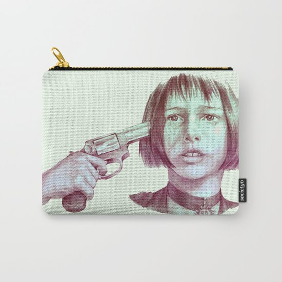 leon - mathilda  Carry-All Pouch