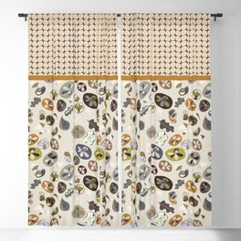 Life In Balance Allover Floral Blackout Curtain