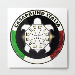 Casapound Italia Metal Print