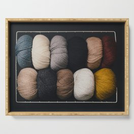 Warm Fuzzy Knits Serving Tray