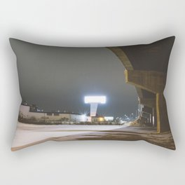 Overpass Passage Rectangular Pillow