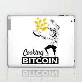 Cooking Bitcoin Laptop & iPad Skin
