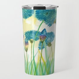 May your cornflowers never fade Travel Mug