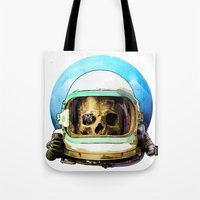 dead space Tote Bags featuring Dead Space by Ryan Huddle House of H