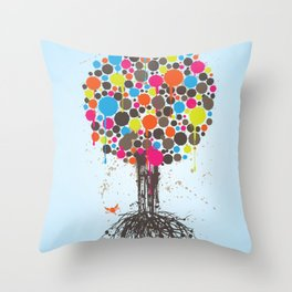 Tree of Life Classic Throw Pillow