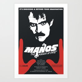 Manos: The Hands of Fate Art Print