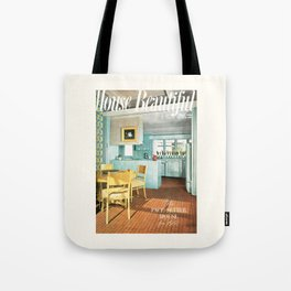 House Beautiful May 1951 Tote Bag