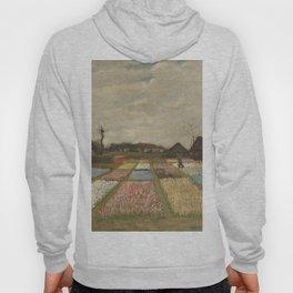 Vincent van Gogh Flower Beds in Holland c. 1883 Painting Hoody