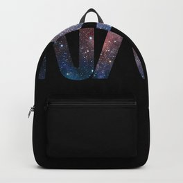 NASA font Backpack