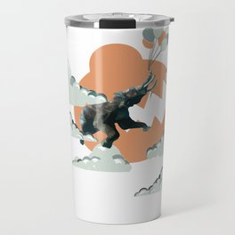 The Elephants Are Weightless Travel Mug