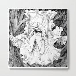 asc 566 - La butineuse (Seeking for sweetness) Metal Print
