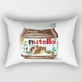Nutella Rectangular Pillow