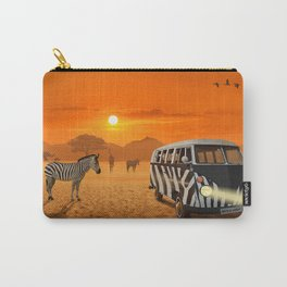 Africa Safari and stripes meeting Carry-All Pouch
