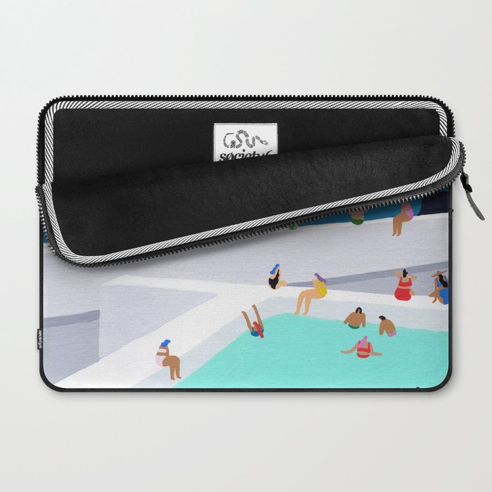Santorini sun Laptop Sleeve