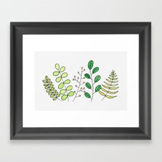 Foliage Framed Art Print