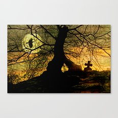 A mysterious place Canvas Print