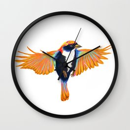 Beautiful Bird Wall Clock
