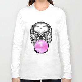 Bubblegum Skull Long Sleeve T-shirt
