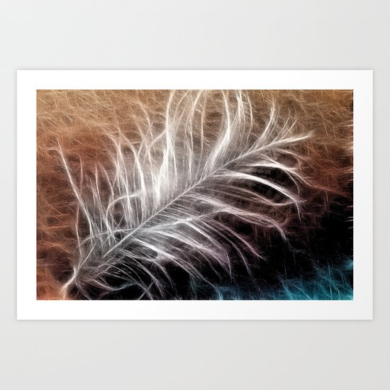 Feather Art Print