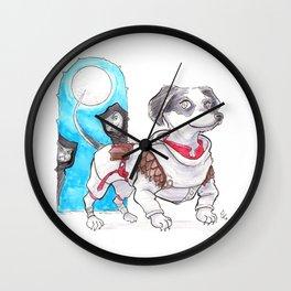 DogDays19 Wylie Wall Clock