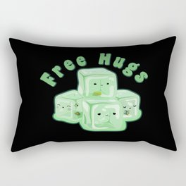 D&D - Gelatinous Hugs Rectangular Pillow