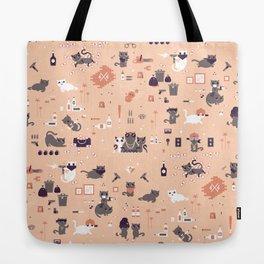 Bad cats Tote Bag