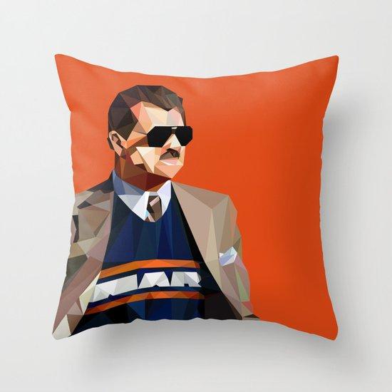 Geometric Ditka Throw Pillow