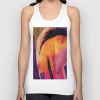 makeup Tank Tops featuring Makeup by Cylena Young