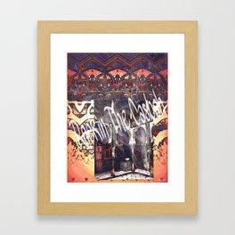 ROCKIN' THE CASBAH Framed Art Print