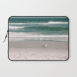 Seagulls at the Beach - Corolla, North Carolina - Photography Laptop Sleeve