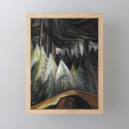 Emily Carr - Forest Light  - Canada, Canadian Oil Painting - Group of Seven Framed Mini Art Print
