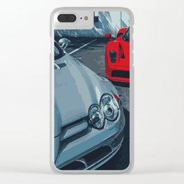 AMG & Enzo Clear iPhone Case