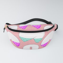 It's A Fortune Cookie Cup Cake Kind of Love Fanny Pack