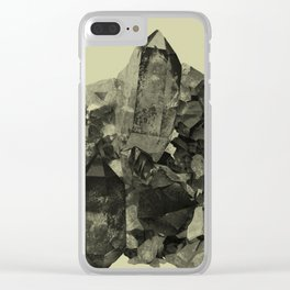 Vintage Crystal Mineral Clear iPhone Case