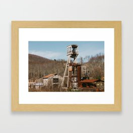 Old Factory Framed Art Print