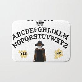 Queen Bey Ouija Board Bath Mat