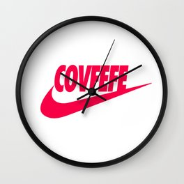 Covfefe [PINK] Wall Clock