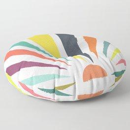 Rainbow ray Floor Pillow