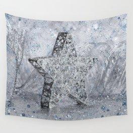 SilverStar ornament  Wall Tapestry