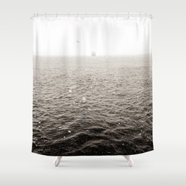 Snowy River I Shower Curtain