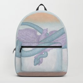 """... be wise as serpents and innocent as doves.""  Matthew 10:16 Backpack"