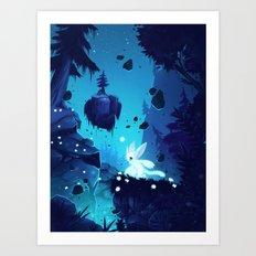 Ori - Lost without Light Art Print