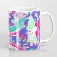 fancy Mugs featuring Fancy by Caroline Sansone