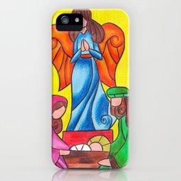 Nativity iPhone Case